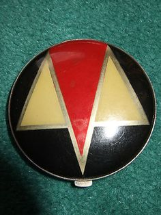 Vintage Gwenda English Art Deco Compact |