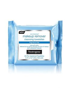 Neutrogena Makeup Remover Cleansing Towelettes, Fragrance Free, 25 ct (Pack of Neutrogena Makeup Remover, Best Makeup Remover, Makeup Remover Wipes, Makeup Wipes, Makeup Brushes, Best Skincare Products, Best Face Products, Beauty Products, Beauty Secrets