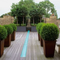 Smart garden terrace | Contemporary gardens - 10 best | housetohome.co.uk