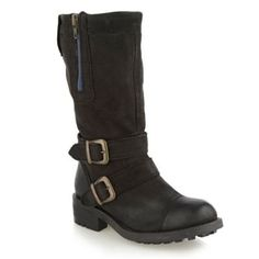 Pretty pretty please if anyone see these H! by Henry Holland Black Leather Biker Boots in a 5 or 6 tell me!