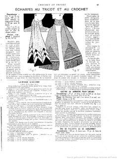 Crochet et tricot 1928