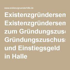 Existenzgründerseminar zum Gründungszuschuss und Einstiegsgeld in Halle (Sachsen-Anhalt) - Existenzgründerhilfe