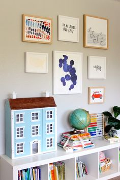 gallery walls with minted art are my fave (giveaway!)