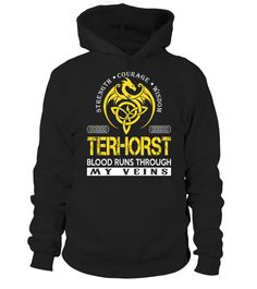 TERHORST - Blood Runs Through My Veins  Funny family terno t shirt T-shirt, Best family terno t shirt T-shirt