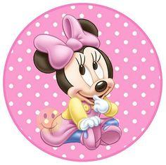 Imágenes de Minnie Mouse para manualidades y decoración