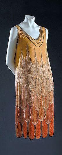 Poiret Dress - 1922 - by Paul Poiret - @~ Watsonette