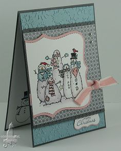 Top Note, Embossing stampin up