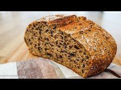Kovászos kenyér - YouTube Bread, Make It Yourself, Food, Youtube, Brot, Essen, Baking, Meals, Breads