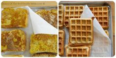 How To Freeze Waffles, Pancakes, And French Toast For Easy Weekday Breakfasts