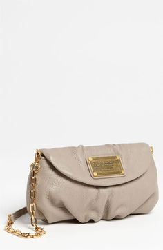 MARC BY MARC JACOBS 'Classic Q - Karlie' Crossbody Flap Bag available at #Nordstrom. I like this in the citron color.