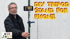 Simple tripod made from odd things in my garage. Great ideas for You-tubers filming outdoors. Diy Tripod, Songs, Random, Phone, Youtube, Photography, Telephone, Song Books, Mobile Phones