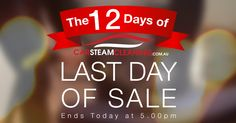 Today is the last of 12 Days of Christmas promotion. Make sure you take advantage and claim your promo code here. carsteamcleaning.com.au/christmas-promo-2017-b  #xmas2017