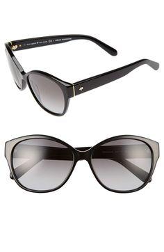 39272efc027 kate spade new york  kiersten  56mm cat eye sunglasses