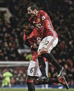 FT 2-1 against MID. on Sir Alex Ferguson birthday with 2 Fergie goals. January 2, 2017. Pogba and Mkhitaryan.