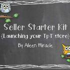 Seller Starter Kit {Launching your TpT store}--comprehensive tutorials to help teachers begin selling on TpT!