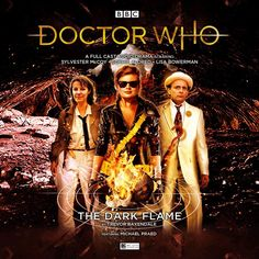 The Dark Flame Sylvester Mccoy, Full Cast, It Cast, Bbc Doctor Who, Cd Cover, Dr Who, Present Day, The Darkest, Tv Shows