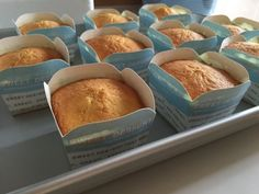 My Mind Patch: Golden Butter Cupcakes 金黄牛油杯子蛋糕 Fluffy Cupcakes, Butter Cupcakes, Banana Cupcakes, Sponge Cake Recipe Best, Sponge Cake Recipes, Cupcake Recipes, Tea Cakes, Cupcake Cakes, Cake Business