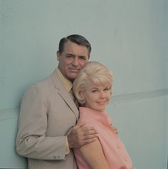 Cary Grant and Doris Day in publicity photo for That Touch of Mink (1962)