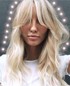 "589 Likes, 5 Comments - Gevir (@gevir) on Instagram: ""I love #hairinspiration #regram #headstudio #blondehair #fringe #70s #wavyhairdontcare…"""