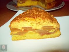 Dea's Cakes: Tort cu crema de zahar ars si mere- Flan cake with...