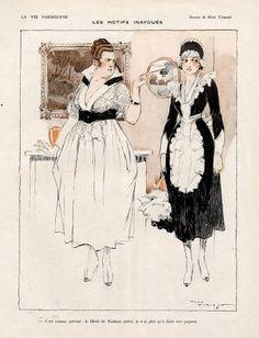 René Vincent 1917 ''Les motifs inavoués'' Maid