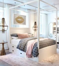 Bedroom ideas for teenage girls Bed 20 Bedroom Ideas For Teen Girls Pinterest Teen Bedroom Ideas
