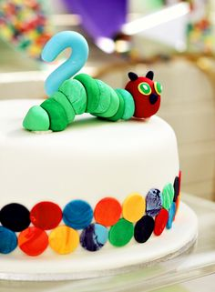 {Cute & Clever} Very Hungry Caterpillar Party