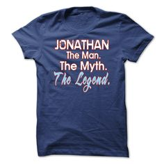 JONATHAN - The man The Myth The Legend Tshirt and Hoodie
