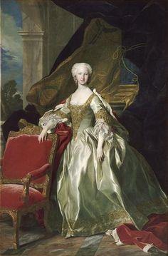 The Infanta María Teresa Rafaela of Spain, future Dauphine of France (1726-1746)