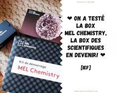 Dans cet article, je vous dévoile le contenu de la box n°1 de science de Mel Chemistry. Chemistry, Cards Against Humanity, Science, Box, Boxes, Science Comics