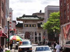 China Town in Boston