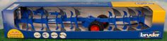 1/16th Lemken Vari Trail 8 Bottom Plow by Bruder Toy Toys