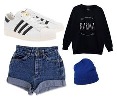 """""""Untitled #171"""" by dani-93 ❤ liked on Polyvore featuring malo and adidas Originals"""