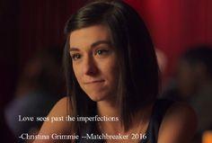 Christina Grimmie Matchbreaker 2016