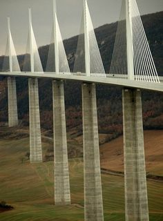 millau viaduct Had to cancel my trip to drive over this bridge just before moving from Germany.  Someday....