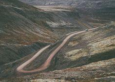 Road to Raudisandur   Red sand beach   Westfjords