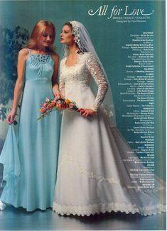 Vintage Wedding Photos, Vintage Weddings, Vintage Bridal, Wedding Attire, Wedding Gowns, 1980s Wedding Dress, Vintage Clothing, Vintage Outfits, Bridal Fashion