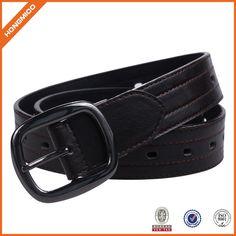 Men Casual Pin Belt Leather Belt For Jean