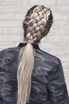 Spring Racing Hair Inspo - Chunky braids