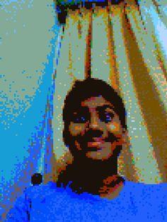 Myself in 8-bit :-)