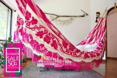 Verano venta 50% off hamacas Wayuu Trinitaria por wayuuhammocksshop