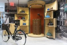 Moynat's pop-up shop within a shop at Dover Street Market in New York. Photo: Courtesy