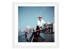 Slim Aarons, Venice Gondolier on OneKingsLane.com