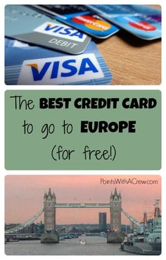 Finding the best credit card to go to Europe is not as straightforward as you might think. Let travel expert Dan Miller help you figure out the best . Travel Expert, Europe Travel Tips, Travel Abroad, Budget Travel, Travel Ideas, Travel Destinations, Miles Credit Card, Credit Card Points, Best Travel Credit Cards