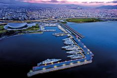 Athens Marina has a large seafront entrance for easy access, along with tender pilot assistance and a unique dock for alongside berthing. Top Greek Islands, Abu Dhabi Grand Prix, Usa Miami, Monaco Yacht Show, Colourful Buildings, Balearic Islands, Super Yachts, Luxury Yachts, Luxury Travel