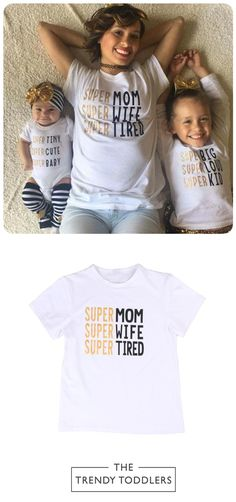 SALE 33% + FREE SHIPPING! SHOP Our Super Mom Outfit