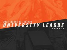 "Check out my @Behance project: ""2017 League of Legends University League - Brand ID"" https://www.behance.net/gallery/57158275/2017-League-of-Legends-University-League-Brand-ID"