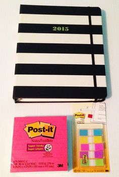 preppy school supplies & organization