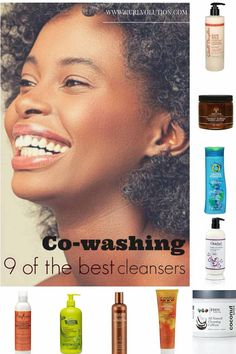 Cowashing for #naturalhair