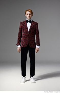Marc Jacobs Unveils Modern Suiting for Fall/Winter 2014 image Marc Jacobs Fall Winter 2014 Collection Look Book Formal Suiting 019 800x1240